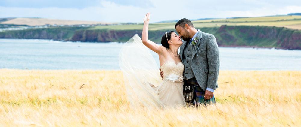 wedding photography services scotland